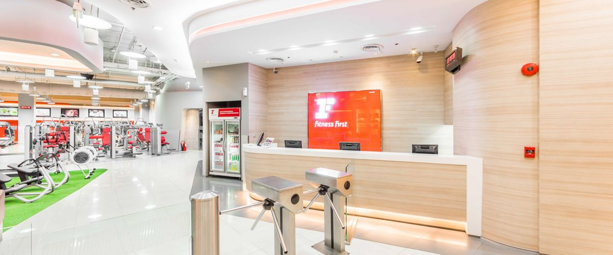 Fitness First CentralPlaza Chonburi Front Desk