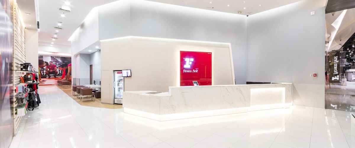 Fitness First CentralPlaza Grand Rama 9 Front Desk
