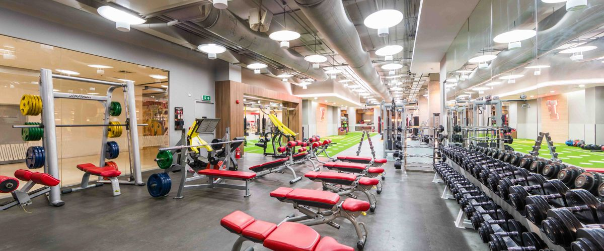 Fitness First CentralPlaza Khonkaen Weight Area
