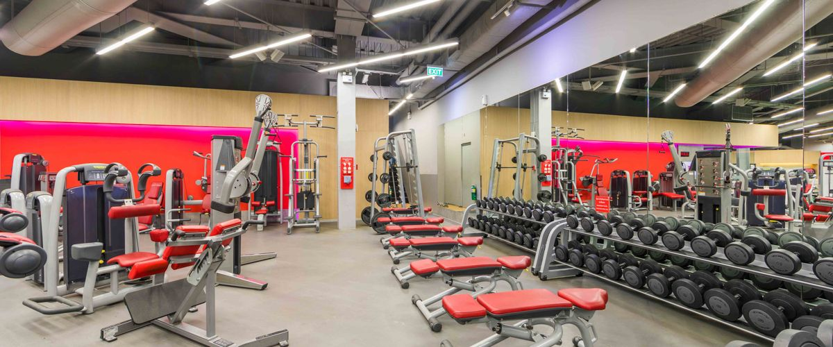 Fitness First CentralPlaza Udonthani Weight Area