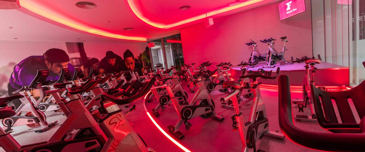 Fitness First Platinum Aia Capital Center Cycling Studio