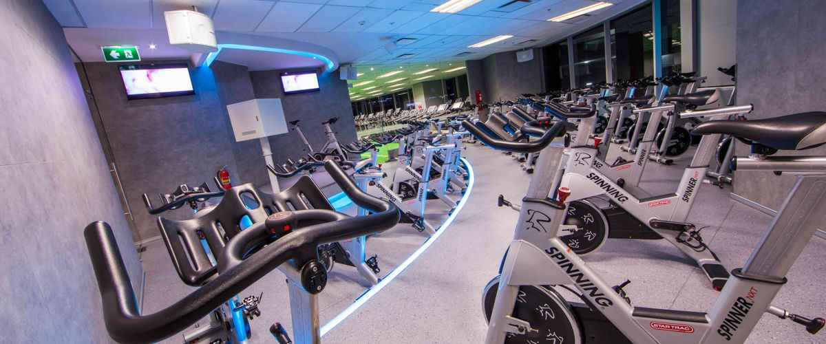 Fitness First Platinum Sathorn Square Cycling Zone