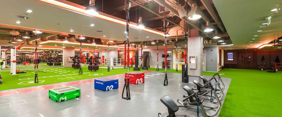 Fitness First Seacon Square Freestyle Area