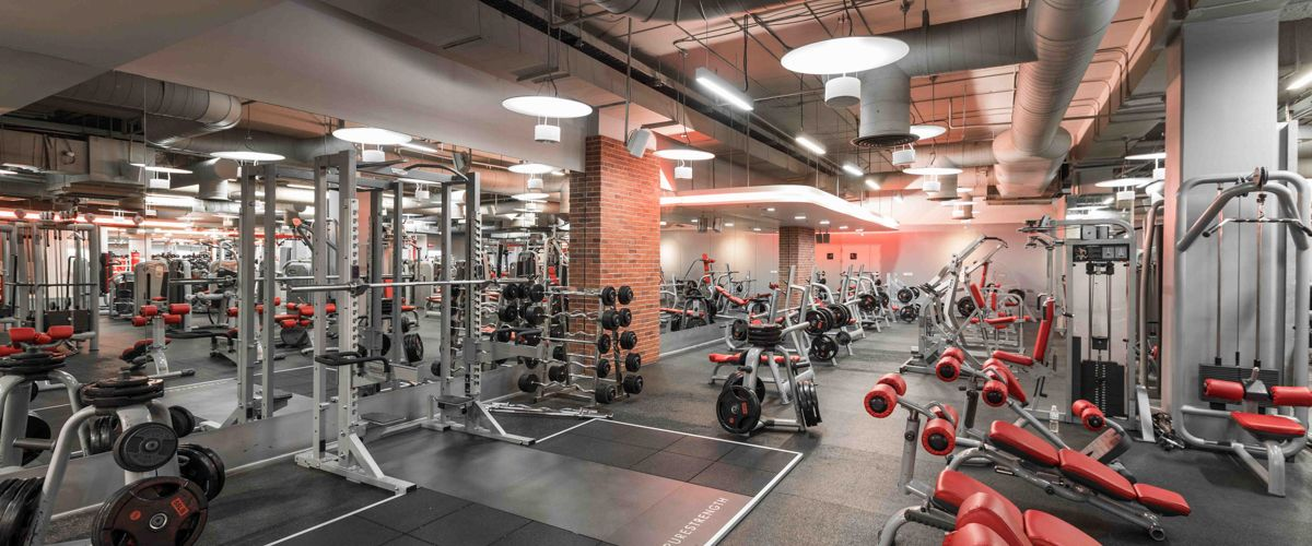 Fitness First Seacon Square Weight Area