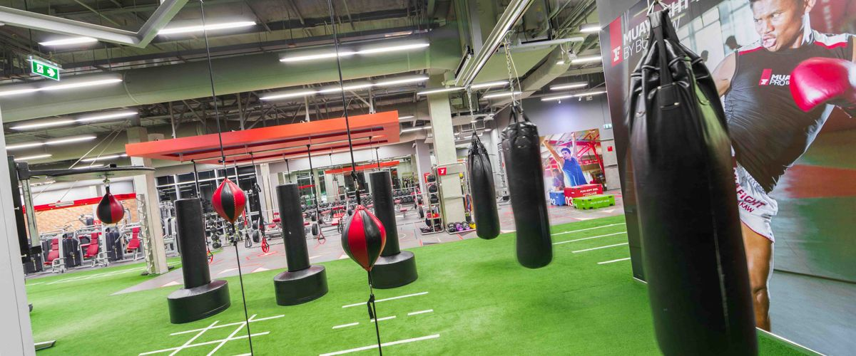 Fitness First The Crystal Sb Ratchapruek Boxing Area
