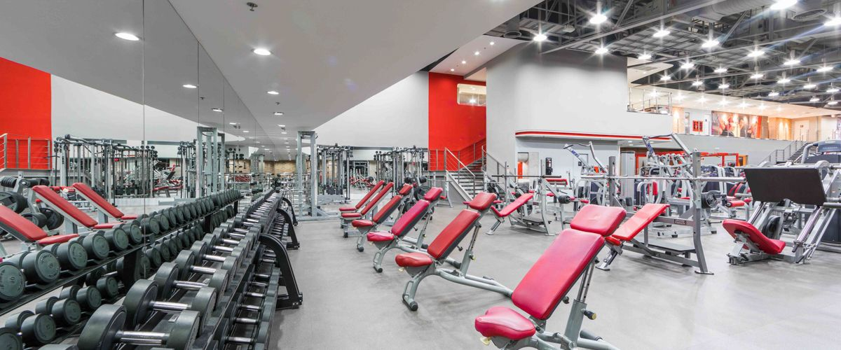 Fitness First The Mall Bangkapi Weight Area