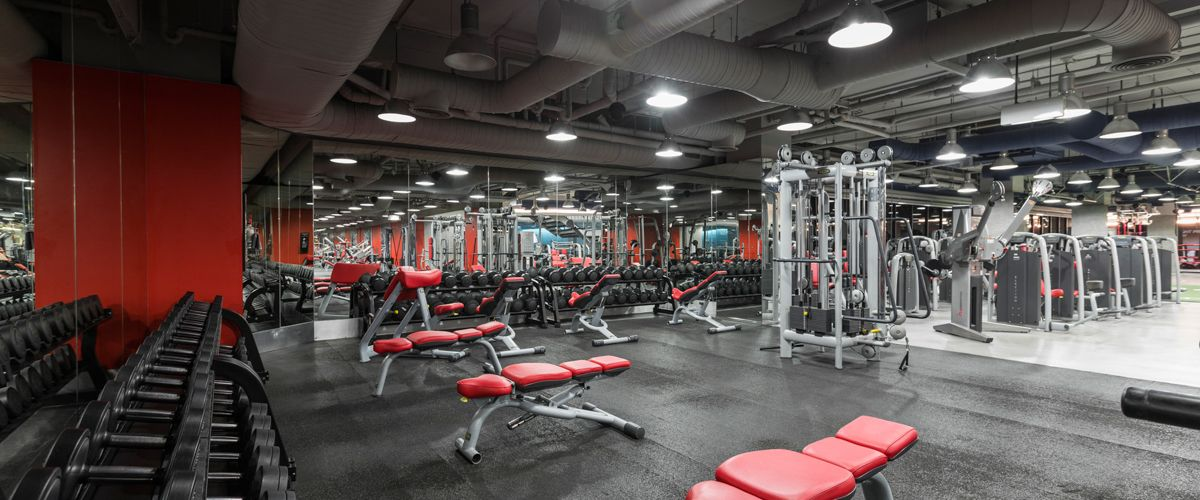 Fitness First The Mall Ngamwongwan Weight Area