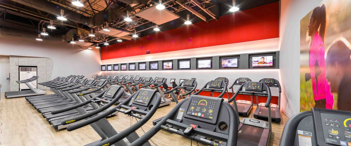 Fitness First The Mall Tahpra Cardio Area