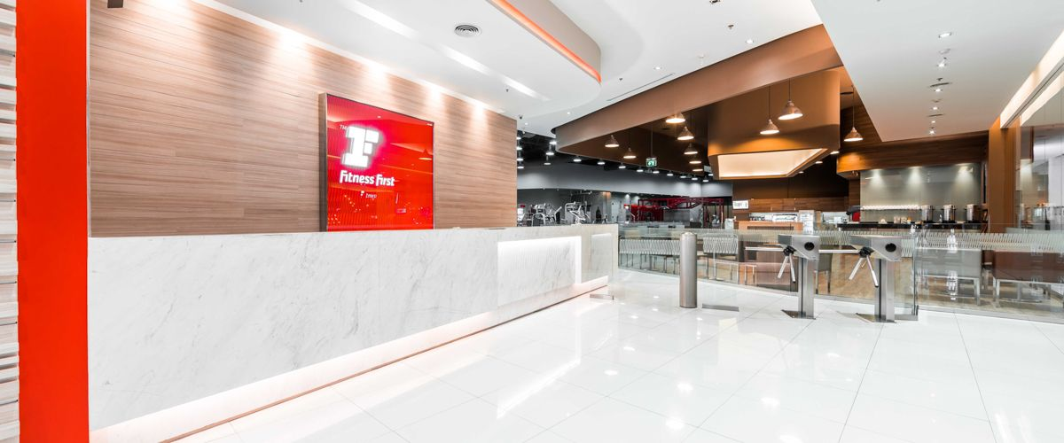 Fitness First The Mall Tahpra Front Desk