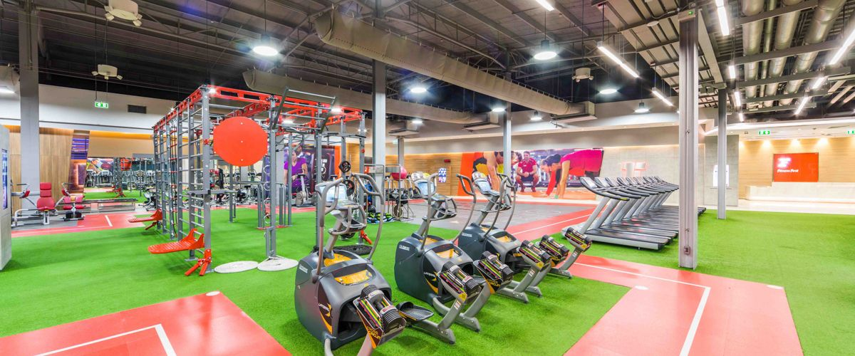 Fitness First The Promenade Freestyle Area 2