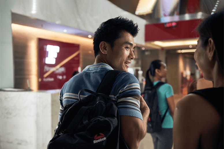 People visiting Fitness First Thailand gym clubs