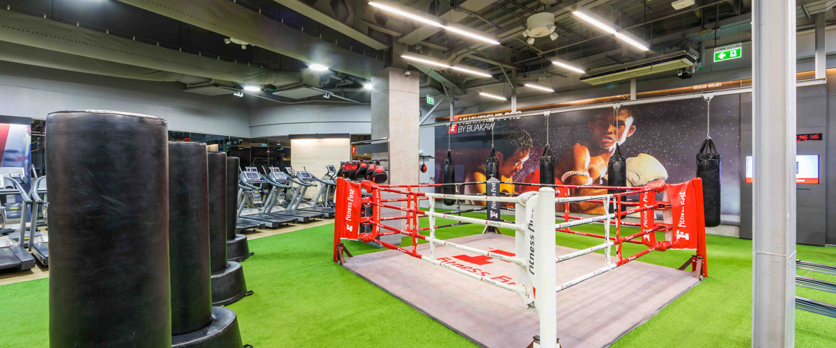 boxing area